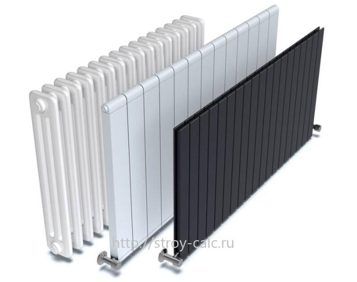 Калькулятор секций радиаторов