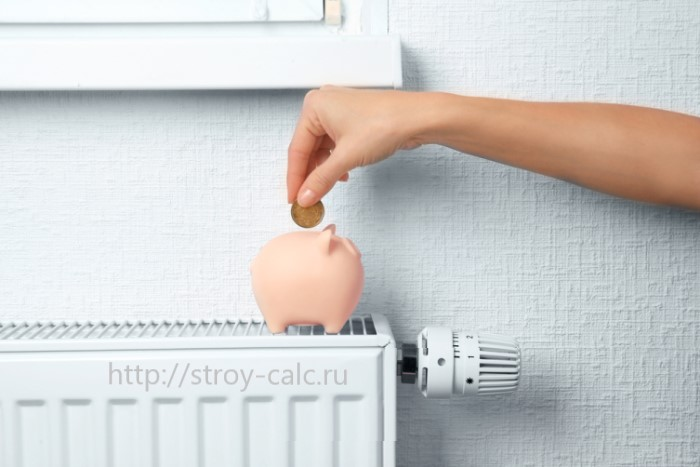 Расчет радиаторов отопления