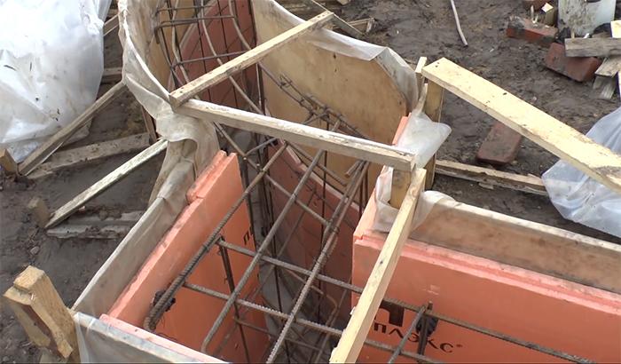 Строительство фундамента своими руками