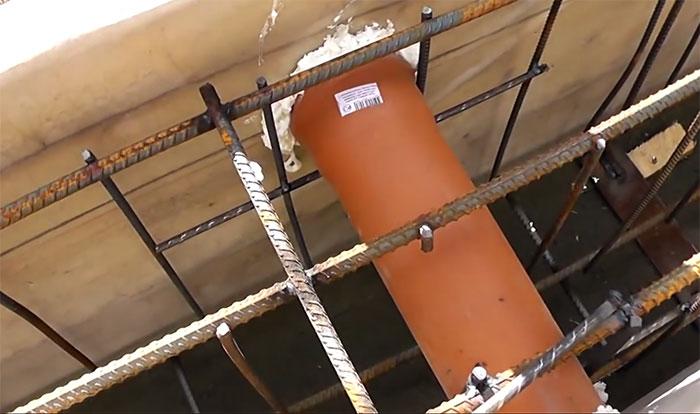 Отверстия для вентиляции в ленточном фундаменте